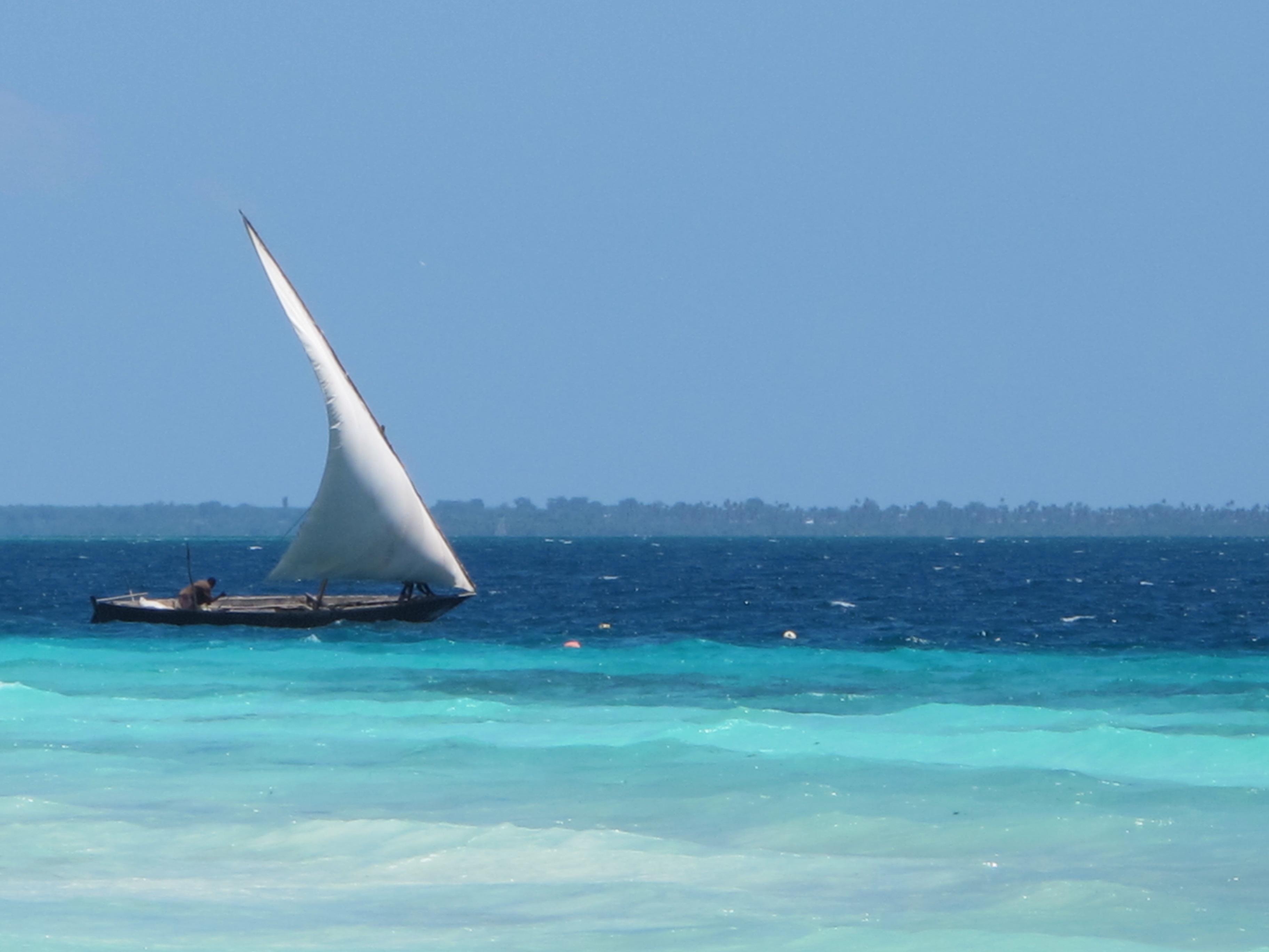A Zanzibar Dhow