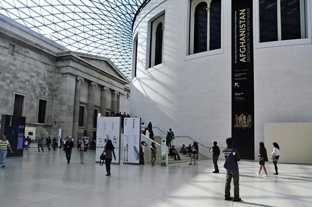 Inside London's British Museum