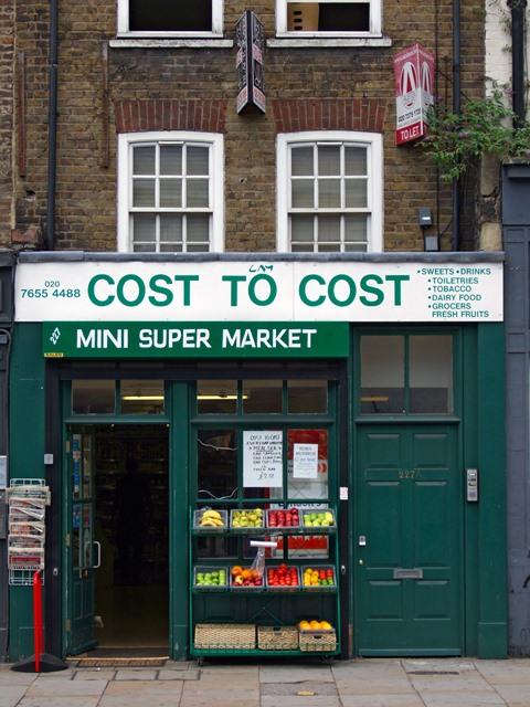 London Supermarket