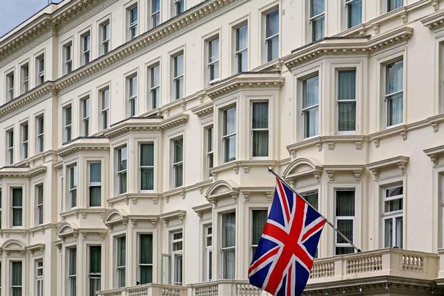 London Apartment Block