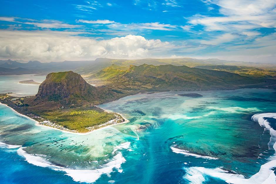Island in Mauritius