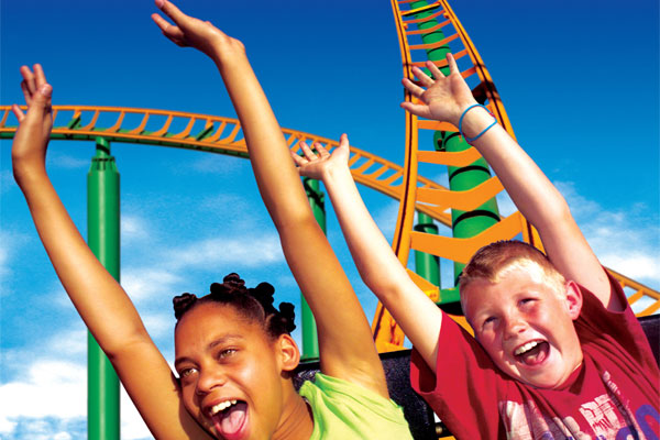 Gold Reef City Roller Coaster