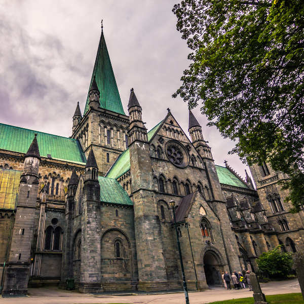 old-cathedral-trondheim