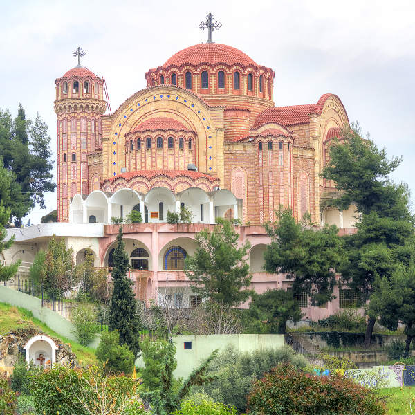 Thessaloniki Cathedral Historic Sites