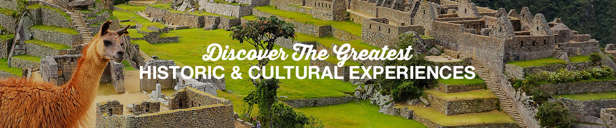 Historic and Cultural experiences