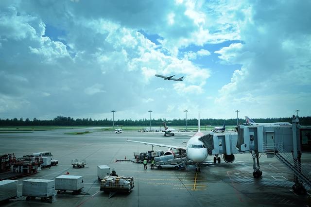 Changi Airport Takeoff